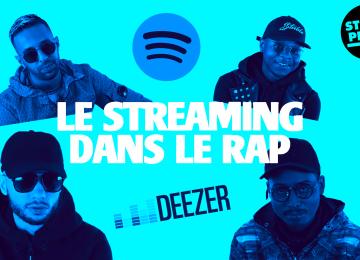 Le streaming dans le rap français