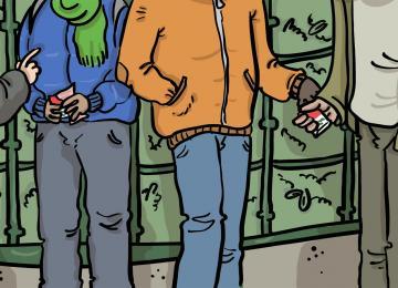 La vraie vie des vendeurs de clopes de La Chapelle