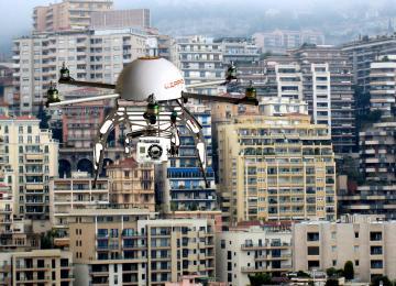 Les drones policiers débarquent sur Paris
