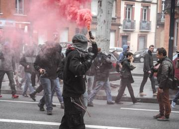 A Toulouse, l'action des antifas au quotidien