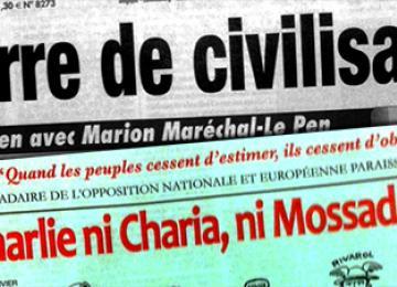 Le pire de la presse d'extrême droite, spécial Charlie Hebdo