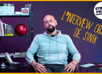 L'interview objets de Sinik