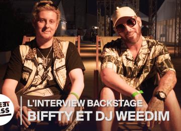 L'interview Backstage de Biffty et DJ Weedim