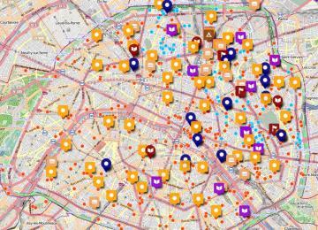 Welcome Map, une carte pour aider les réfugiés de Paris