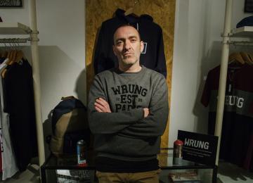Les légendes du rap s'habillent en Wrung