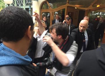 Photo-journaliste, j'ai été expulsé de la soirée électorale du FN