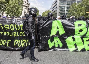 Des manifestants du 1er mai jugés pour port de K-Way noir