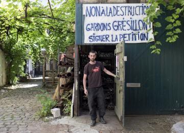 A Belleville, la métallerie Grésillon menacée d'expulsion