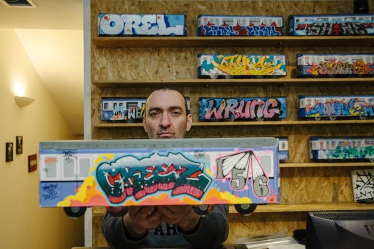 Wrung toile graffiti Creez