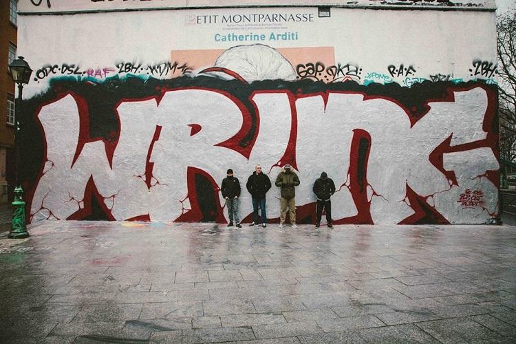 Wrung graffiti
